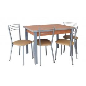 Conjunto 100*60 2 Bancos + 2 Cadeiras