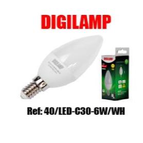 Lâmpada LED E14 6W 420LM