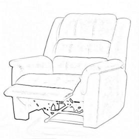 Limpeza + Impermeabil. Sofá de 1 Lugar / Maple