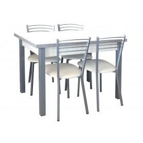 Conjunto Mesa 110*70 + 4 Cadeiras
