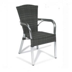 Cadeira Jamaica ref. 8036 Medula alumínio exterior