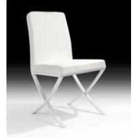 Cadeira Branca c/pés Brancos Ref. 522091-1