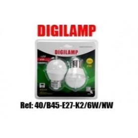 Lâmpada LED E27 6W 420LM