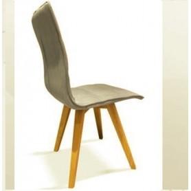 Cadeira Tecido Pé Natural