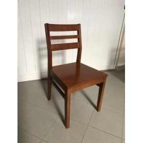 Chair Ancora Pine Honey upholstered seat