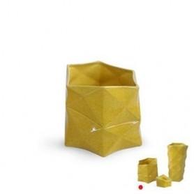 Jarra Amarela Tetris 4701 17*17*16cm Ref 4624