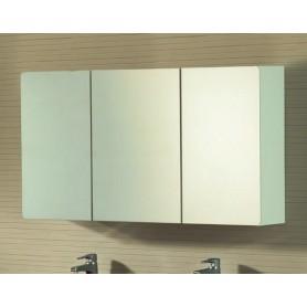 Espelho WC NORDIC branco cantos redondos