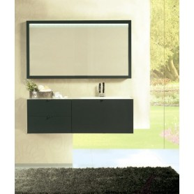 Conjunto WC AVENUE Antracite 125cm