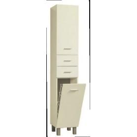 Movel WC Coluna Geo 2 portas 2 gavetas 40 cm