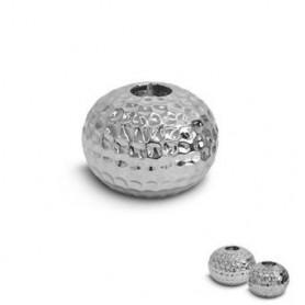 Castiçal Porc Titanium Silver HS09490 13x13x9.5cm R.5286