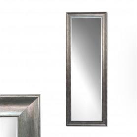 Espelho com moldura P1814 ref 5343 Prata velho 164x59cm