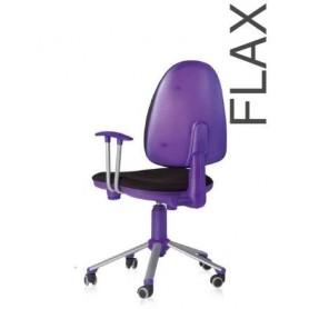 Cadeira escritório FLAX S2100 giratória Lilás
