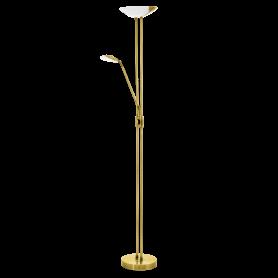 Candeeiro Pé Alto BAYA ref 93877 - LED Latonado dourado