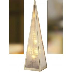 Árvore Natal em cone de vidro REF 23244