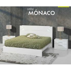 Cama Casal Mónaco Simples c/ Estrado p/ colchão 200*150/160