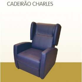 Wing Chair Cadeirão Charles orelhas - mecanismo manual Geriatric