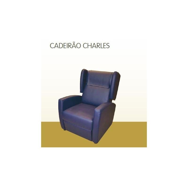 Cadeirão Charles orelhas - mecanismo manual Geriatric
