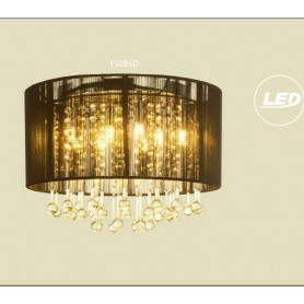 Candeeiro Suspensão BAGANNA  -REF . 15095D  LED - Preto