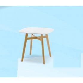 Mesa Quadrada 855SL-691 Lacado Branco