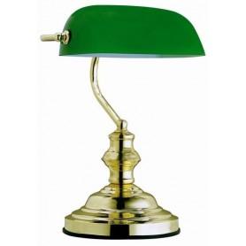 Candeeiro de mesa ANTIQUE Ref.: 2491 Dourado e verde