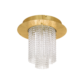 Candeeiro Plafon VILALONES ref 39398 LED dourado