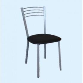 Cadeira Rosa Com Assento Estofado