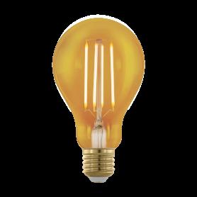 Lampada LED E27-LED-A75 4W-320 lm 1700k -7,5cm Ref.11691 vintage EGLO