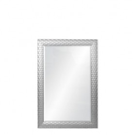 Espelho com Moldura 74x109CM P4327-F-1809-1 REF 6686 Prata