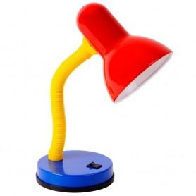 Candeeiro de secretaria Basic ref 27388 Vermelho Amarelo Azu