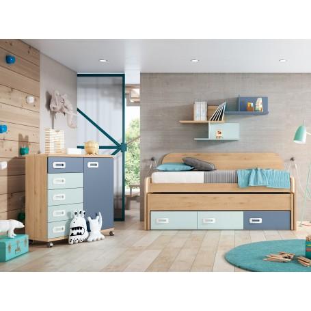 Quarto criança completo para cama 190x90