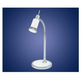 Candeeiro de Secretária 90838 LED branco e cromo