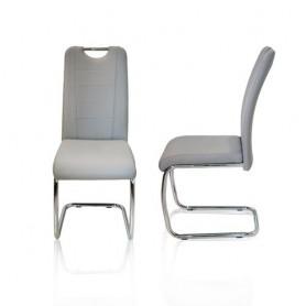 Cadeira Cinza SKY-6711-2  Ref.6387