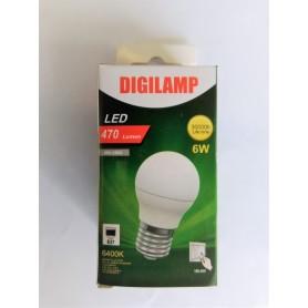 Lampada LED E27 40/LED-B45-6W/WH