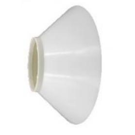 LED V1 Campânula Branca em Plástico