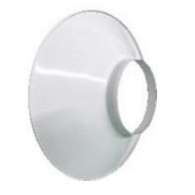 LED V3 Campânula Branca em Alumínio