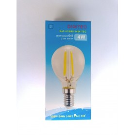 Lâmpada LED Filamento 41/B45-1404-TEC 4W 2700K 400LM