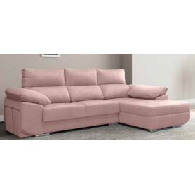 Sofá Jammes Cheers Queens Ash Cinza Chaise V/F Drt