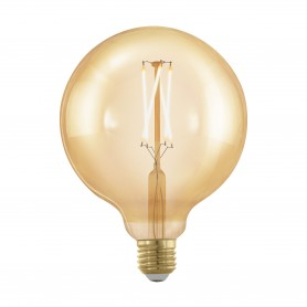 Lâmpada LED E27-LED-A75 4W-320 lm 1700k -12,5cm Ref.11694 vintage Regulável Dimável  EGLO