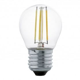 copy of Lampada LED E27-LED-A75 4W-320 lm 1700k -7,5cm Ref.11691 vintage EGLO