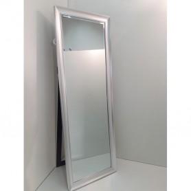 Espelho de Pé moldura prateada 55X160CM P1997 Ref 7812