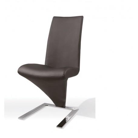 Cadeira Sala 700 DC 218B PU preta