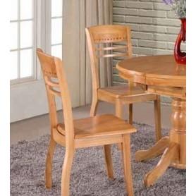 Cadeira Madeira com Tampo Ref. 684KC318 Natural