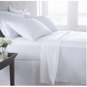Conj Lençois 160x280 com capa 90x200 e fronha branco Cotton