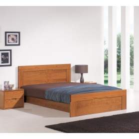 Troia Double bed Pine Esc. Lourini