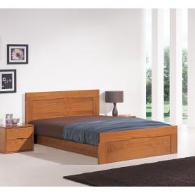 Troia Double bed Pine Esc. Lourini