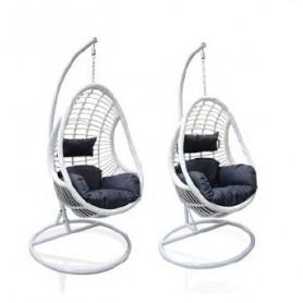 Cadeira de Baloiço Suspensa Branca Grande FOA01-01 8093