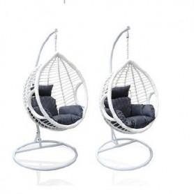 Cadeira de Baloiço Suspensa Branca Media FOA02-01 8095M