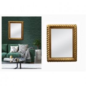 Espelho dourado SM028B 102x82 cm ref 0669