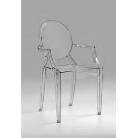 Cadeira 8140 W - 109 acrílico transparente