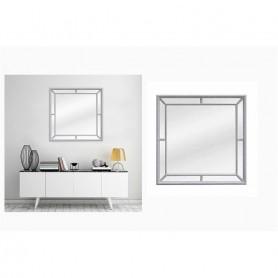 Espelho 21828 (90X90CM) Cinza Ref 80651